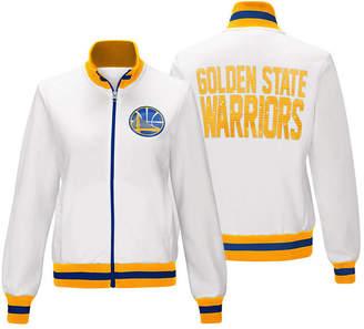 G-iii Sports Women's Golden State Warriors Field Goal Track Jacket
