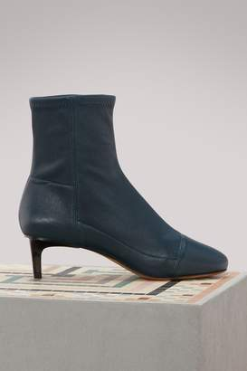 Isabel Marant Daevel leather ankle boots