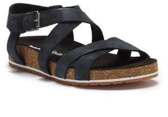 Timberland Malibu Waves Leather Ankle Strap Sandal