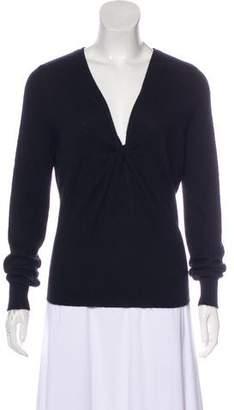 Celine Cashmere V-Neck Sweater