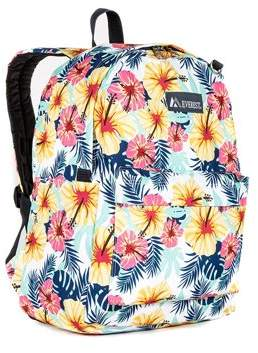 Everest Classic Pattern Backpack, Tropical, One Size