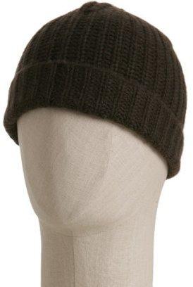 Magaschoni deep lake rib cashmere hat