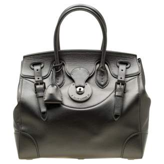 Ralph Lauren Ricky Metallic Leather Handbags