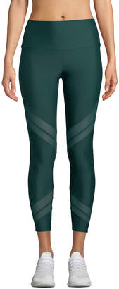 Onzie Sporty Mesh-Inset Activewear Leggings
