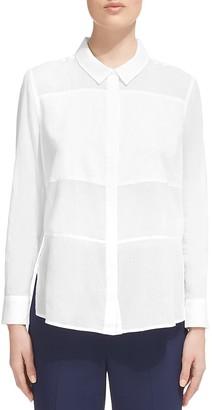 Whistles Cotton Voile Shirt $160 thestylecure.com