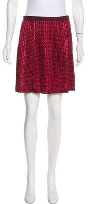 Marc by Marc Jacobs Silk Mini Skirt