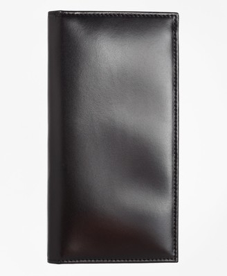 Brooks Brothers French Calfskin Checkbook Cover