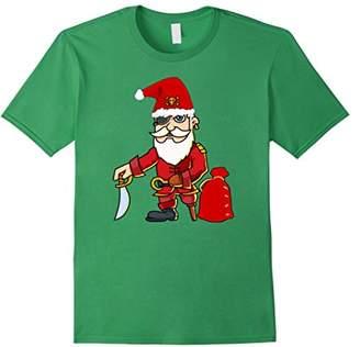 Christmas Pirate Santa Xmas t-shirt