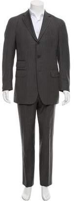 Boglioli Wool Pinstripe Two-Piece Suit