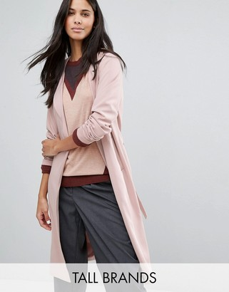 Y.A.S Tall Anna Slouchy Tie Waist Trench Coat $121 thestylecure.com