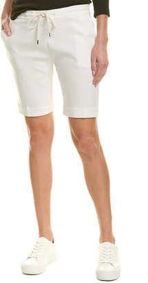 James Perse Pull-On Linen-Blend Trouser Short
