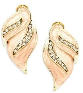 Heidi Daus Crystal Drop Earrings