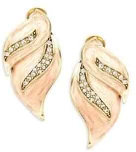 Heidi Daus Crystal Drop Earrings