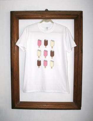 Magnum Rael & Pappie Hand Drawn Ice Lollies T Shirt