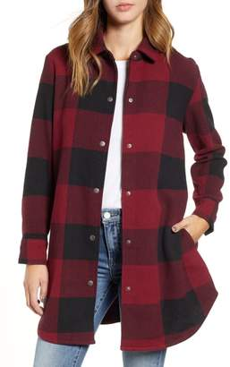 BB Dakota Eldridge Oversize Buffalo Check Shirt Jacket