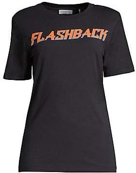 Sandro Women's Cotton Flashback T-Shirt