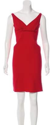 Oscar de la Renta Wool Bouclé Dress
