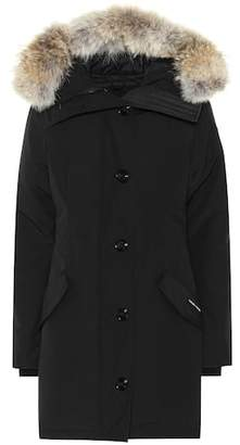 Canada Goose Fur-trimmed hooded coat