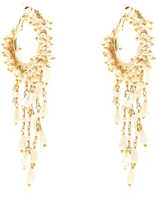 ROSANTICA BY MICHELA PANERO Pascoli faux-pearl embellished earrings