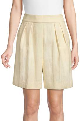 Theory Pleated Shorts
