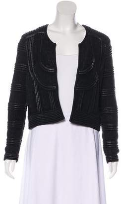 Isabel Marant Long Sleeve Textured Cardigan
