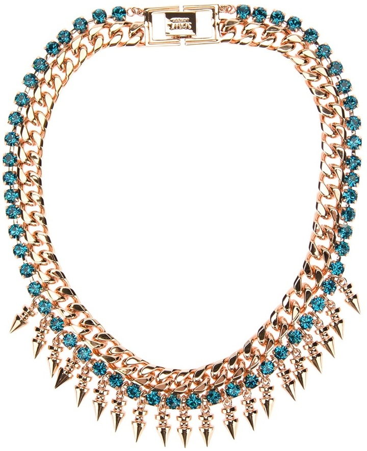 Mawi Spike necklace with crystals