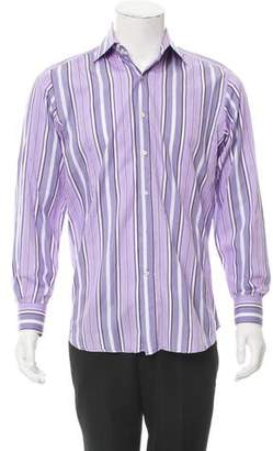 Etro Stripe Button-Up Shirt