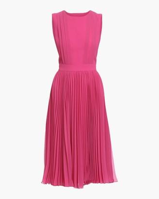 Badgley Mischka Pleated Dress