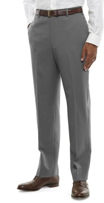 Brooks Brothers Regent Fit Flat-Front Classic Gabardine Trousers