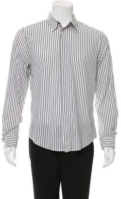 Just Cavalli Striped French Cuff Shirt