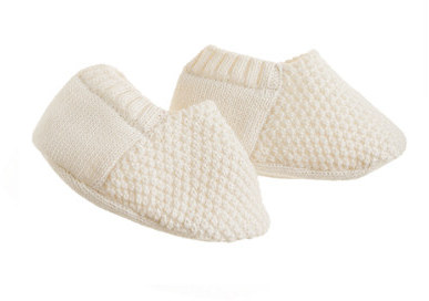 J.Crew TANETM seed-stitched baby booties