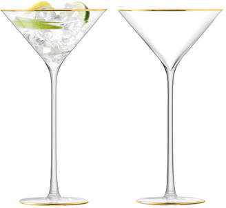 LSA International Celebrate Cocktail Glass - Set of 2 - Gold