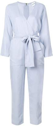 Apiece Apart tailored jumpsuit with knot detail