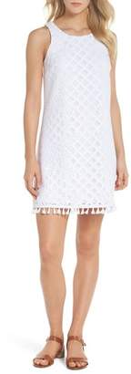 Lilly Pulitzer R) Marquette Lace Shift Dress