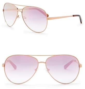 Vince Camuto 60mm Aviator Sunglasses