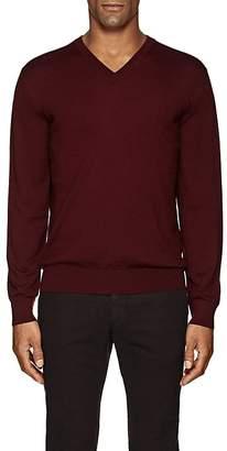 Cifonelli Men's V-Neck Wool Sweater