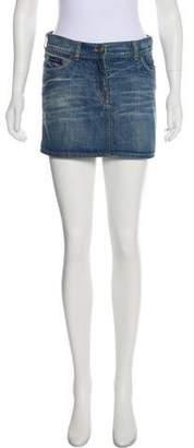 See by Chloe Denim Mini Skirt