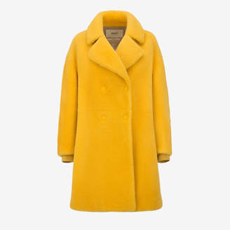 Bally Inside-Out Shearling Coat