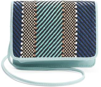 Apt. 9 London Chevron RFID-Blocking Crossbody Wallet