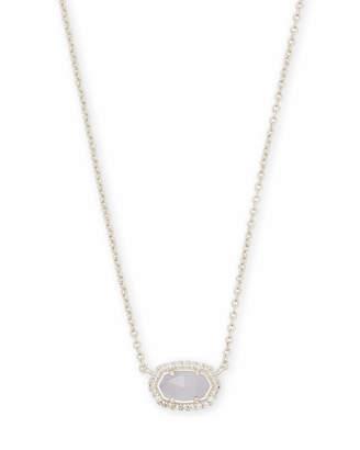 Kendra Scott Chelsea Pendant Necklace in Silver