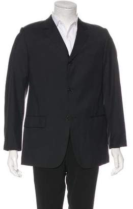 Louis Vuitton Striped Wool Blazer
