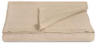 GLUCKSTEINHOME Knit Cotton Blanket