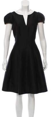 Halston Knee-Length A-Line Dress