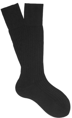 Prada Ribbed Cotton Socks $90 thestylecure.com