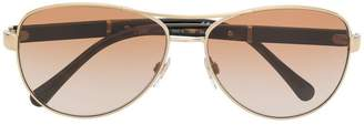 Burberry Eyewear check print sunglasses