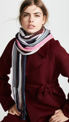 Missoni Narrow Striped Scarf