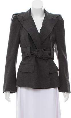 Sonia Rykiel Wool Belted Jacket