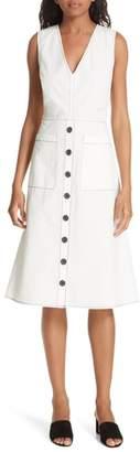 Joie Nadinaly Belted Cotton Dress