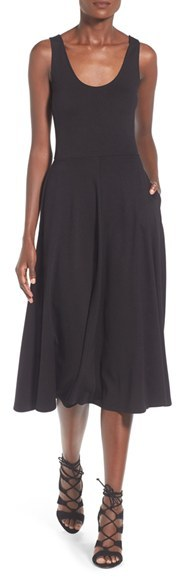 Women's Leith Stretch Knit Midi Dress