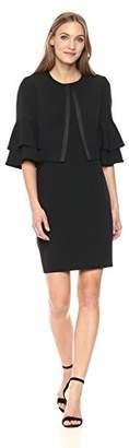 Tahari by Arthur S. Levine Women's Sleeveless Sheath Dress
